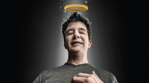 Travis Kalanick angel art