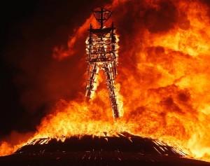 Burning Man Burning