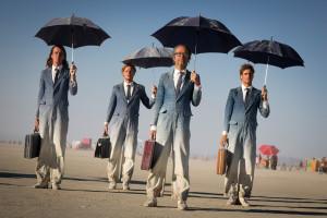 Burning Man business men