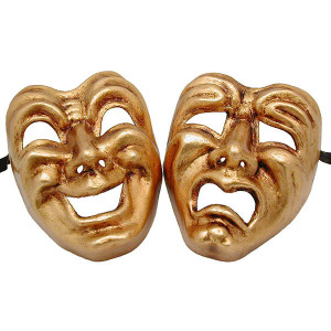 Comedy Tragedy masks 1