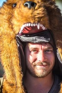 Bear head guy