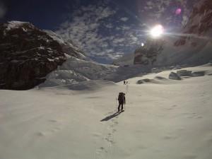 Denali Schmidt on Mount Ranier